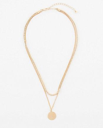 Multi-Strand Layered Necklace