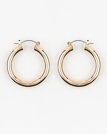 35mm Metal Hoop Earrings