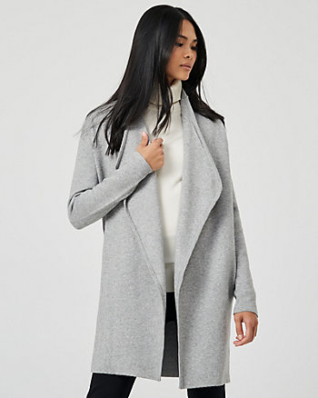 Knit Waterfall Sweater Coat