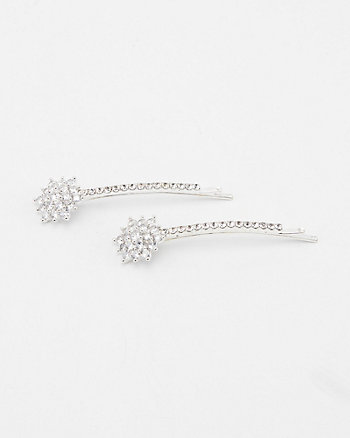 Set of Two Gem Bobby Pins