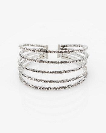 Bracelet à charnière en métal