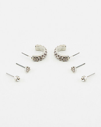 Gem Earrings Set