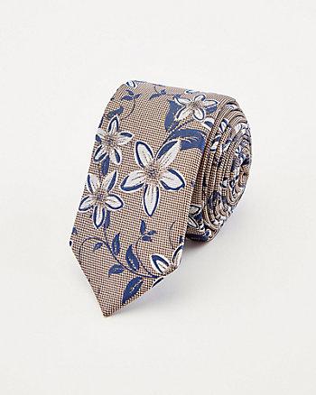 Floral Print Tie