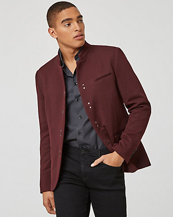 Quilted Knit City Fit Blazer