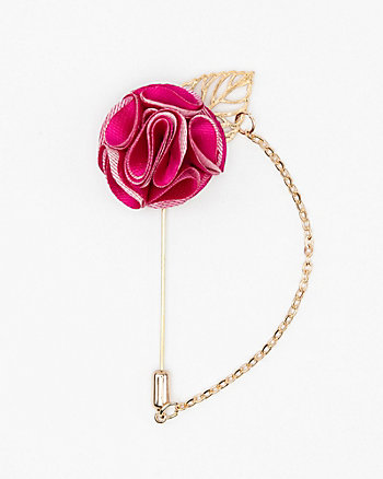 Flower Chain Lapel Pin