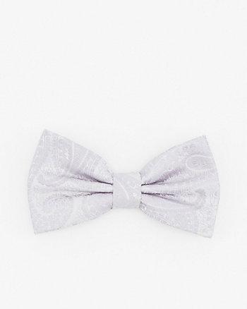 Tonal Paisley Print Bow Tie