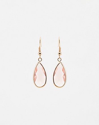 Gem Tear Drop Earrings