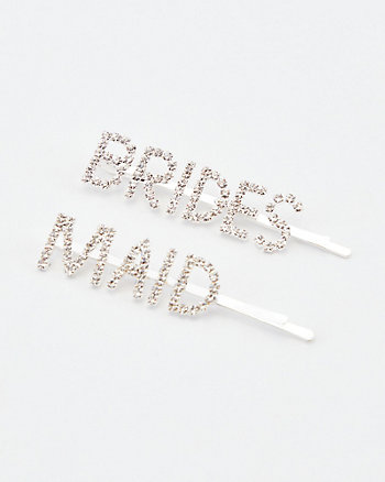 Brides & Maid Hair Clips Set