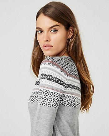 Robe pull en tricot