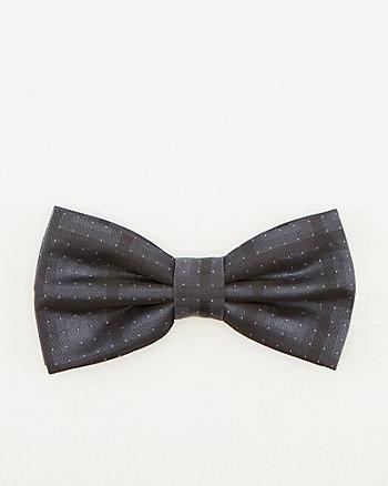 Dot Print Bow Tie