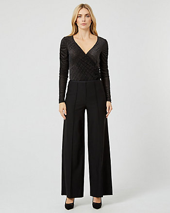 Tech Stretch Wide Leg Pant
