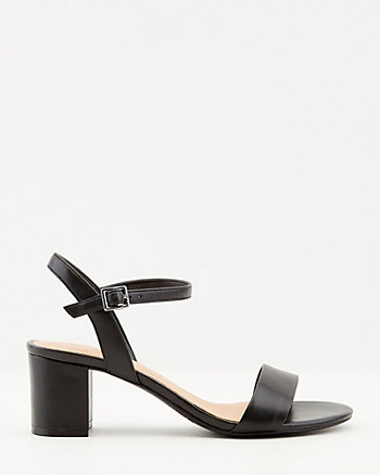 Leather Open Toe Sandal