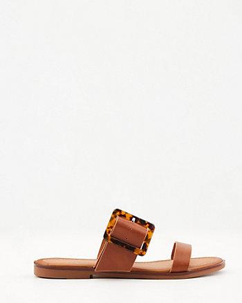 Sandale en similicuir