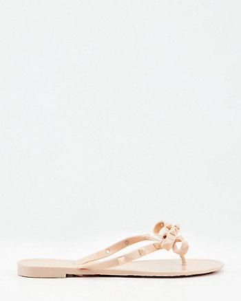Sandale de plastique à boucle double