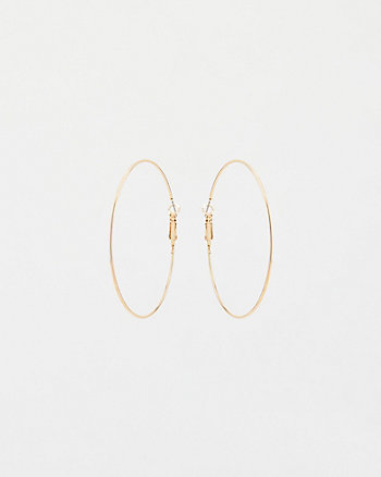 65mm Hoop Earrings