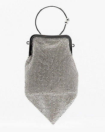 Sac en maille filet scintillante