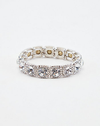 Gem Encrusted Stretch Bracelet