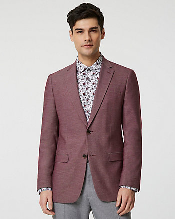 Viscose Blend Executive Fit Blazer