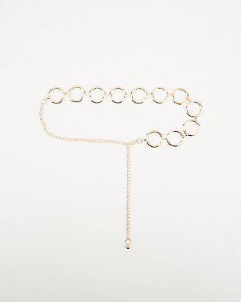 Metal Loop Chain Belt