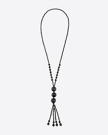 Firepolish Bead Necklace