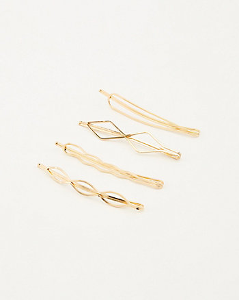 Set of Four Bobby Pins