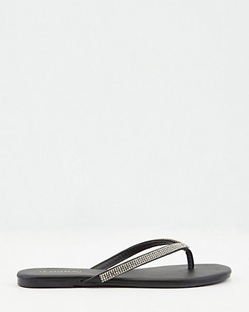 Jewel Embellished Flip Flop