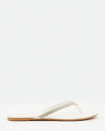 Jewel Embellished Flip Flop