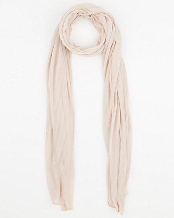 Écharpe de tricot diaphane