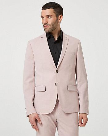 Viscose Blend Slim Fit Blazer
