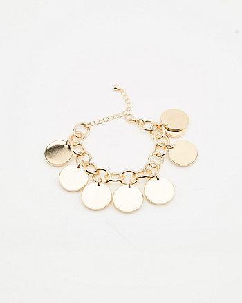 Bracelet de mailles métalliques