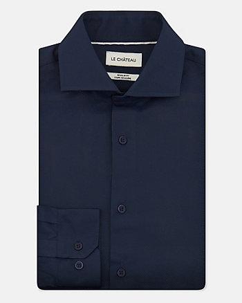 Geo Print Cotton Blend Regular Fit Shirt