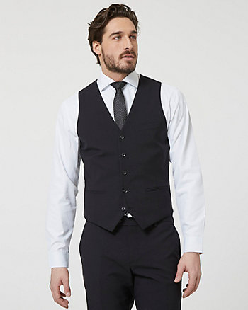 Tropical Wool Contemporary Fit Vest
