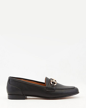 Faux Leather Loafer