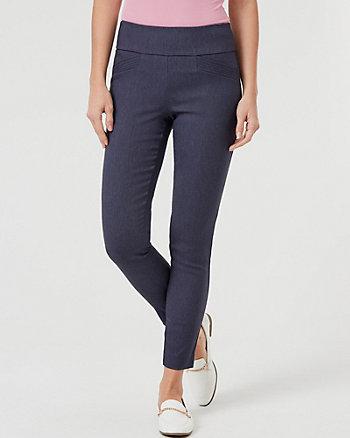 Pantalon moulant en tissu extensible