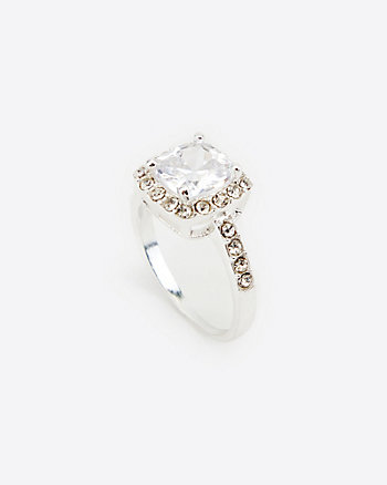 Cubic Zirconia Gem Ring