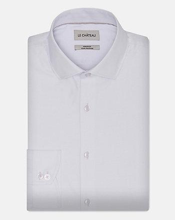 Cotton Blend Athletic Fit Shirt