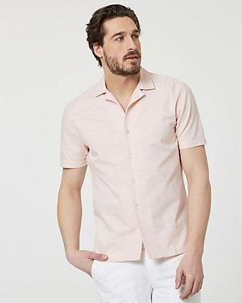 Cotton Short Sleeve Shirt