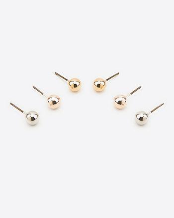 Trio de boutons d'oreilles