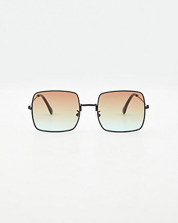Square Aviator Sunglasses