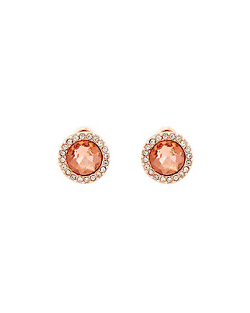 Gem Encrusted Stud Earrings