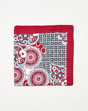 Mouchoir de poche à motif géométrique