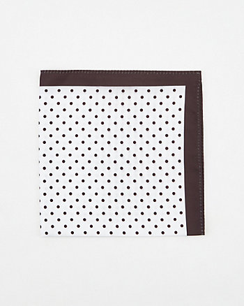Dot Print Pocket Square