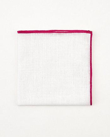 Mouchoir de poche en lin