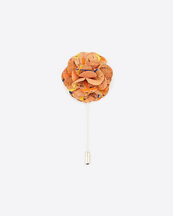 Floral Cork Lapel Pin