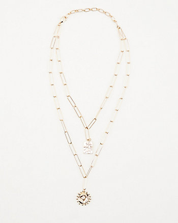 Multi-Strand Pendant Necklace