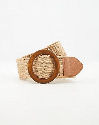 Straw-Like Belt