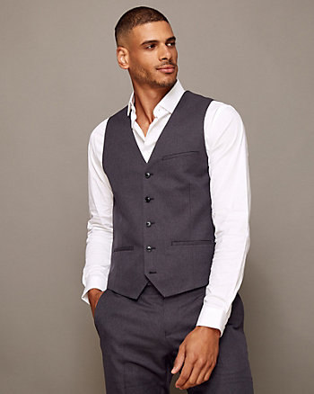 Mechanical Stretch Contemporary Fit Vest