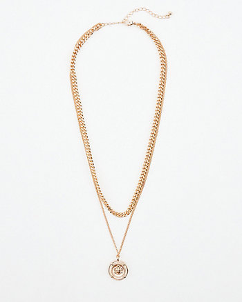 Multi-Strand Layered Necklace