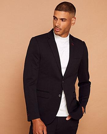 Veston de coupe ajustée en tricot