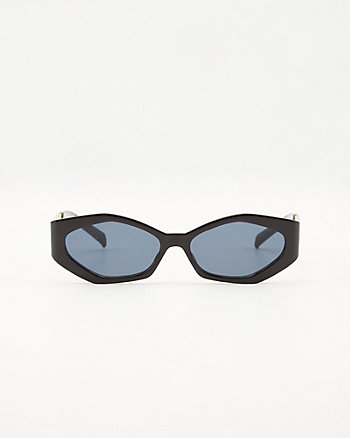 Hexagonal Chain Link Sunglasses